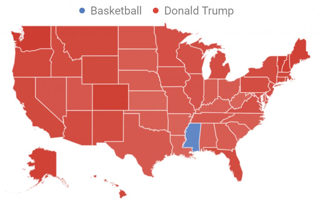 Trump Versus Basketball