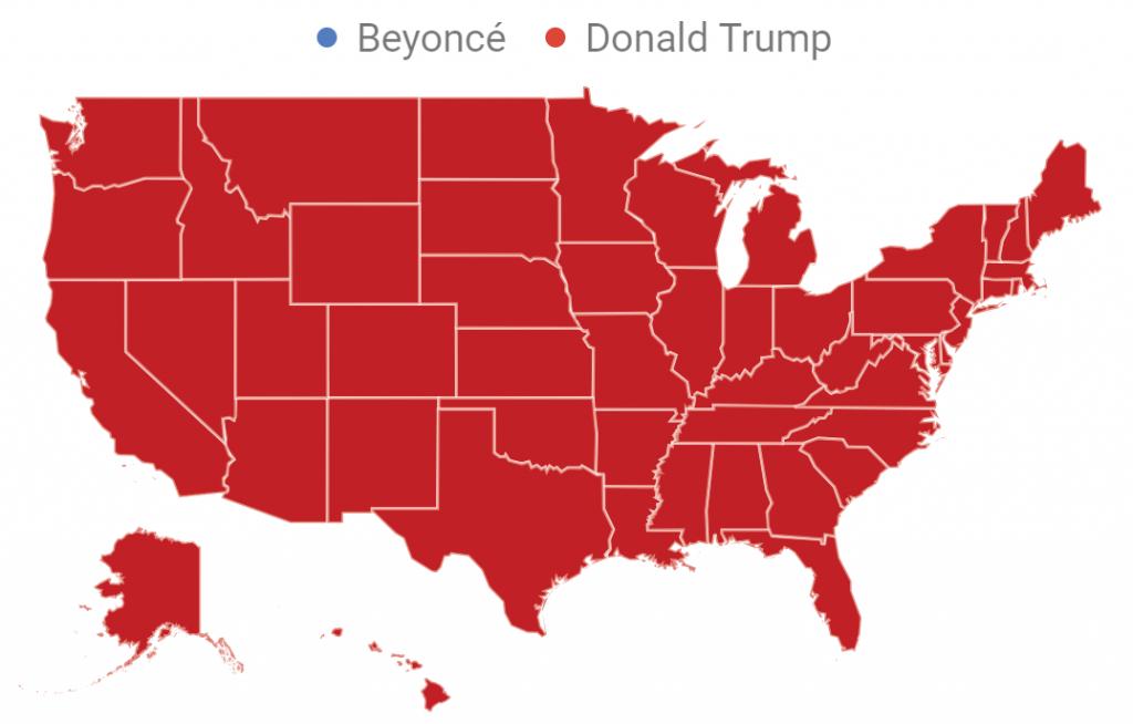 Trump Versus Beyonce