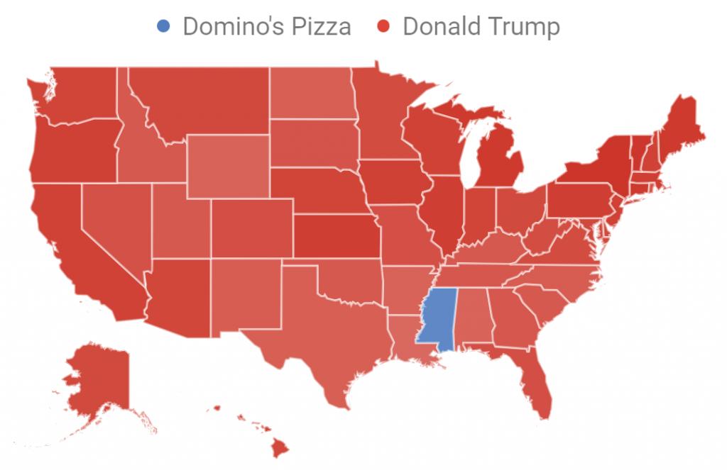 Trump Versus Domino's Pizza