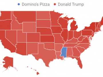 Trump Versus Domino's Pizza