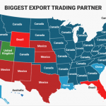 US's Biggest Export Trading Partners