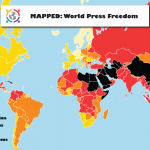 World Press Freedom Mapped