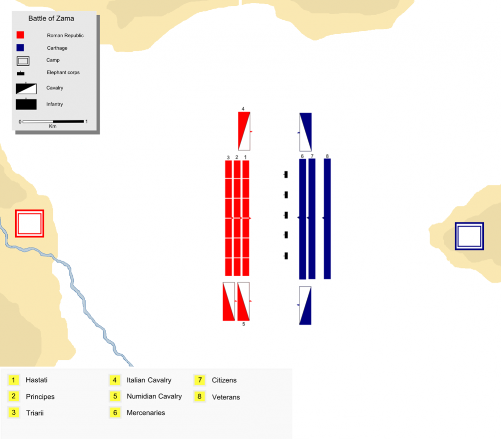 roman empire battle of zama