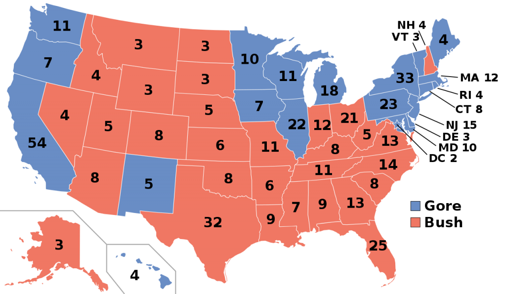2000 Presidential Election Results