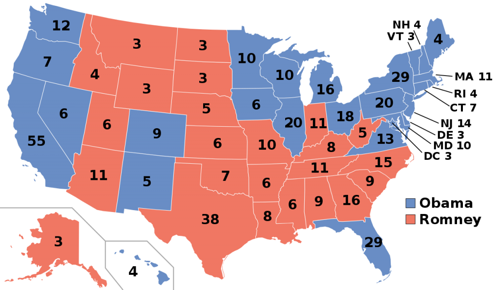 2012 Presidential Election Results