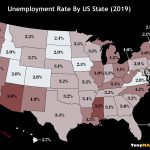 This Map Shows The Unemployment Rate By US State in 2019
