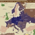world war 2 map europe 1941 1942 nazi germany at height